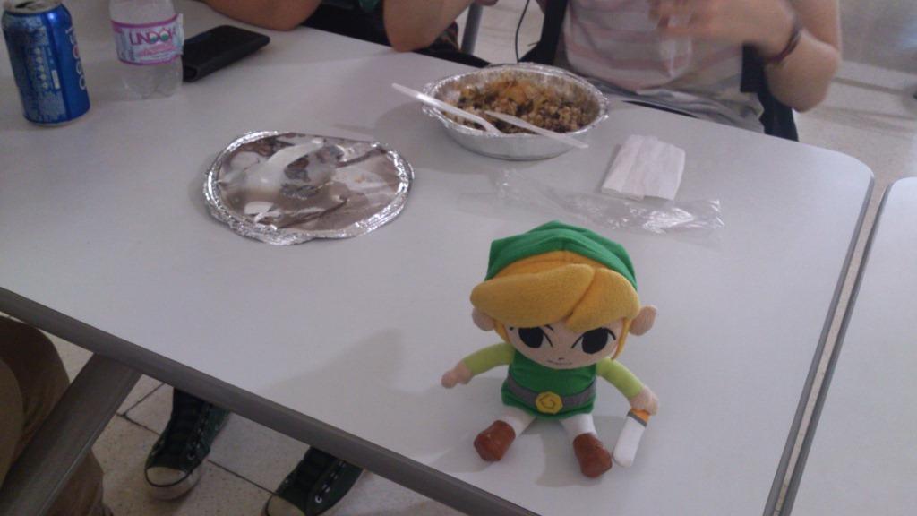 Mas teve lindas pausas pra comer.