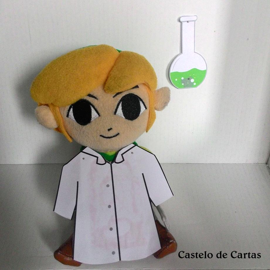 Garcia, o químico também fez sua ponta analisando os pedaços de titânio puro