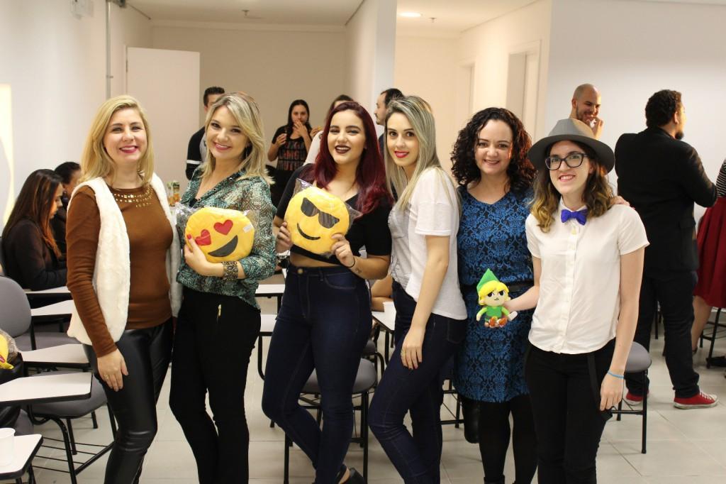 Aí algumas das moças do Blogs do VP que foram! :D Foto de Adriana Palmeira