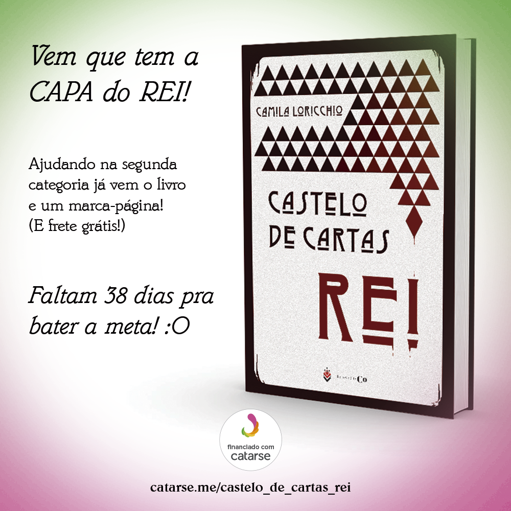 capa do castelo de cartas rei