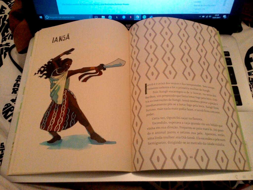 ilustração de iansã